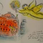 Chagall Homage to Garnier
