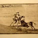 Tauromaquia Plate 13