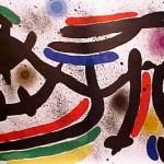 Miro Lithograph I, Number IX