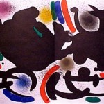 Miro Lithograph I, Number VII
