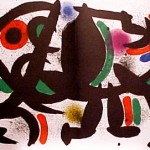 Miro Lithograph I, Number VIII