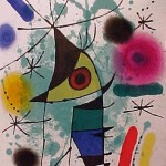 Miro Lithograph I, Number XI