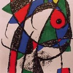 Miro Lithograph II, Number I
