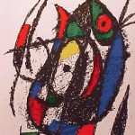 Miro Lithograph II, Number IV