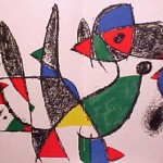 Miro Lithograph II, Number IX