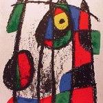 Miro Lithograph II, Number VII