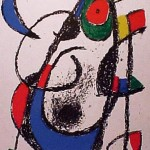 Miro Lithograph II, Number XI