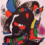 Miro Lithograph IV, Number II