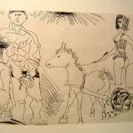 El Entierro del Conde De Orgaz, Plate 3