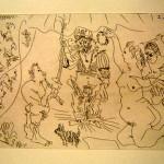 El Entierro del Conde de Orgaz, Plate 10