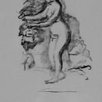 Femme au cep de Vigne